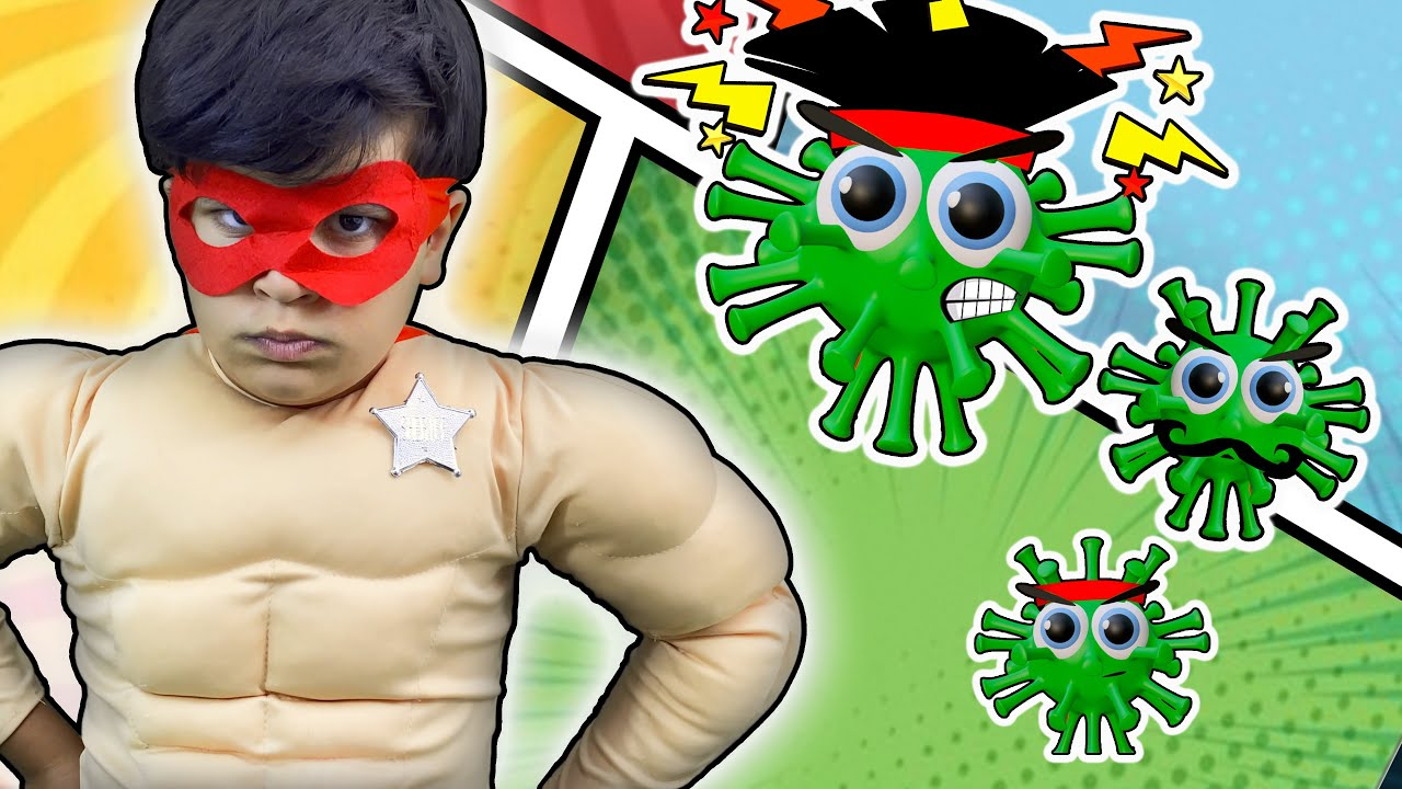 Captain Sanitizer | Kids Stories About Virus