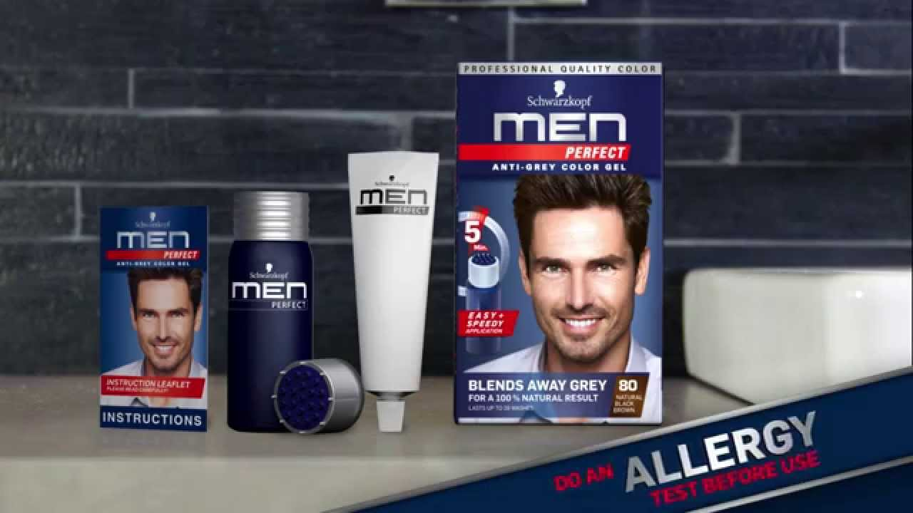 Amazon.com : Schwarzkopf Men Perfect Tinting Gel Anti-Gray .
