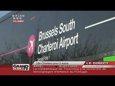 Flibco : Lille - Bruxelles Charleroi pour 5 euros !