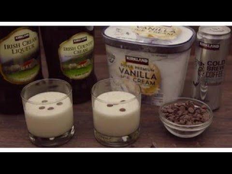 Quick & Easy: Kirkland Signature Irish Cream Cold Brew Milkshake