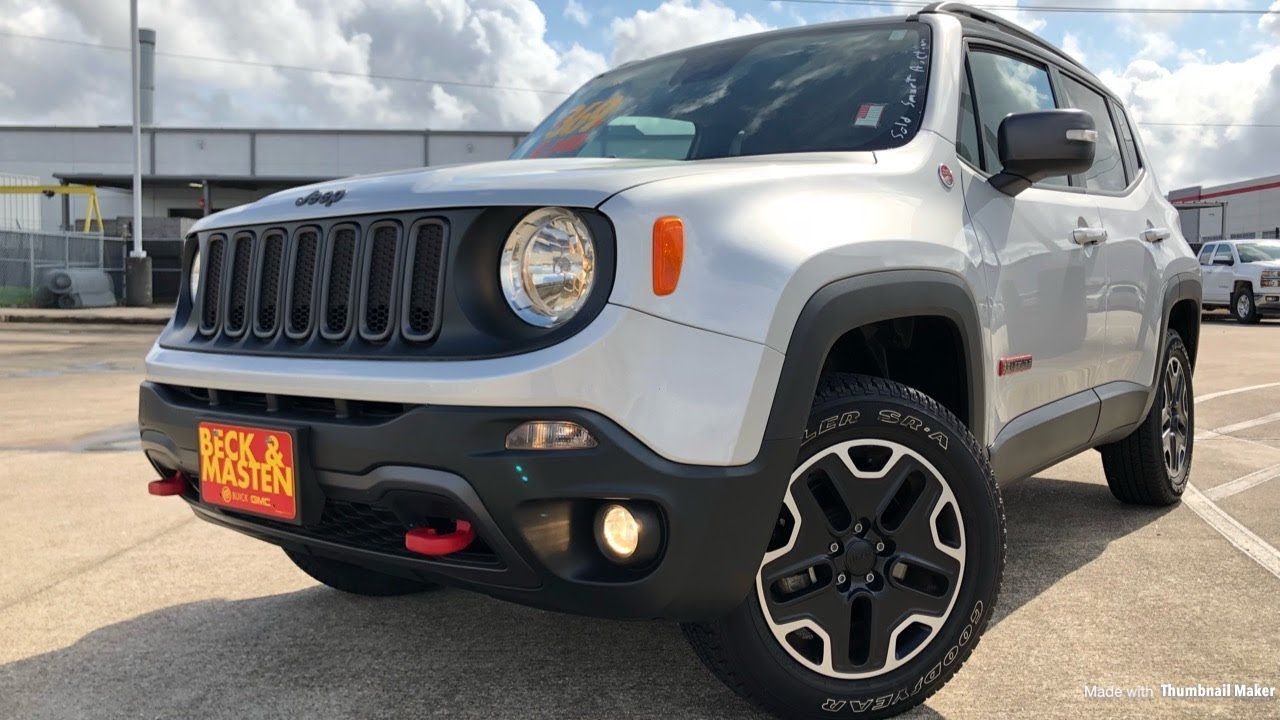 2018 jeep renegade trailhawk 4x4 2 4l 4cyl review youtube. Black Bedroom Furniture Sets. Home Design Ideas