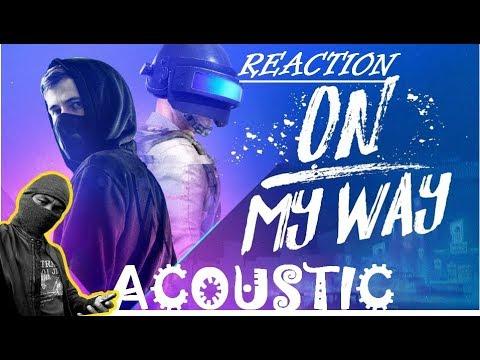 reaksi-mendengarkan-on-my-way---acoustic-guitar-cover---alan-walker