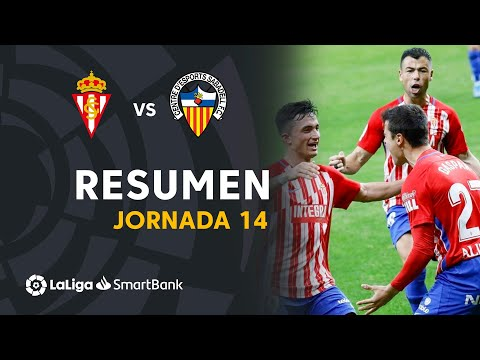 Gijon Sabadell CE Goals And Highlights