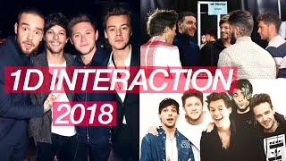 ONE DIRECTION TALKING ABOUT A REUNION, EACH OTHER & INTERACTIONS 2018
