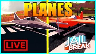 *NEW* Planes Update | JetFighter and Stunt Plane and More | Roblox Jailbreak Grinding Stream