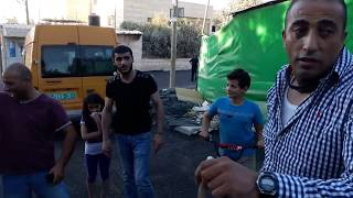 افعى بداخل تكسي سياره عمومي 16 6 2017 مع جمال العمواسي