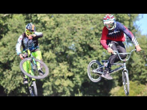 VTT Dirt VS Bmx Race