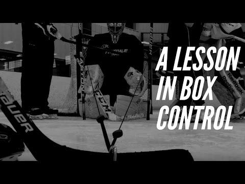 Box Control for Goalies (walkthrough) by Justin Goldman of @thegoalieguild