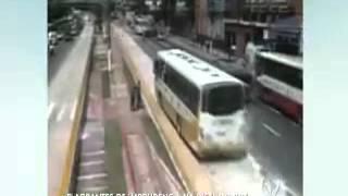 atropelamento na pista do BRT