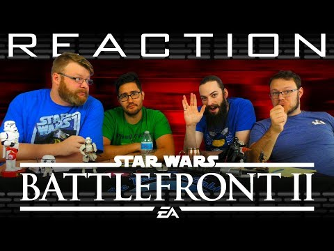 Star Wars Battlefront 2 Single Player Trailer REACTION!!