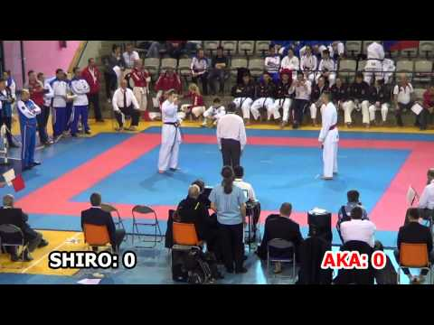 2015 JKA European Championship - Junior Men Kumite