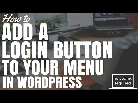 How To Add A Login Button To Menu In Wordpress (No Coding Required)