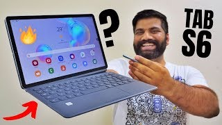 Samsung Galaxy Tab S6 Unboxing & First Look - The Premium Performer🔥🔥🔥