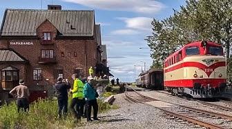 "Diesel locomotive / Dieselveturi Dr12 2216 ""Huru"", Kemi - Ajos - Tornio - Haparanda - Kemi"