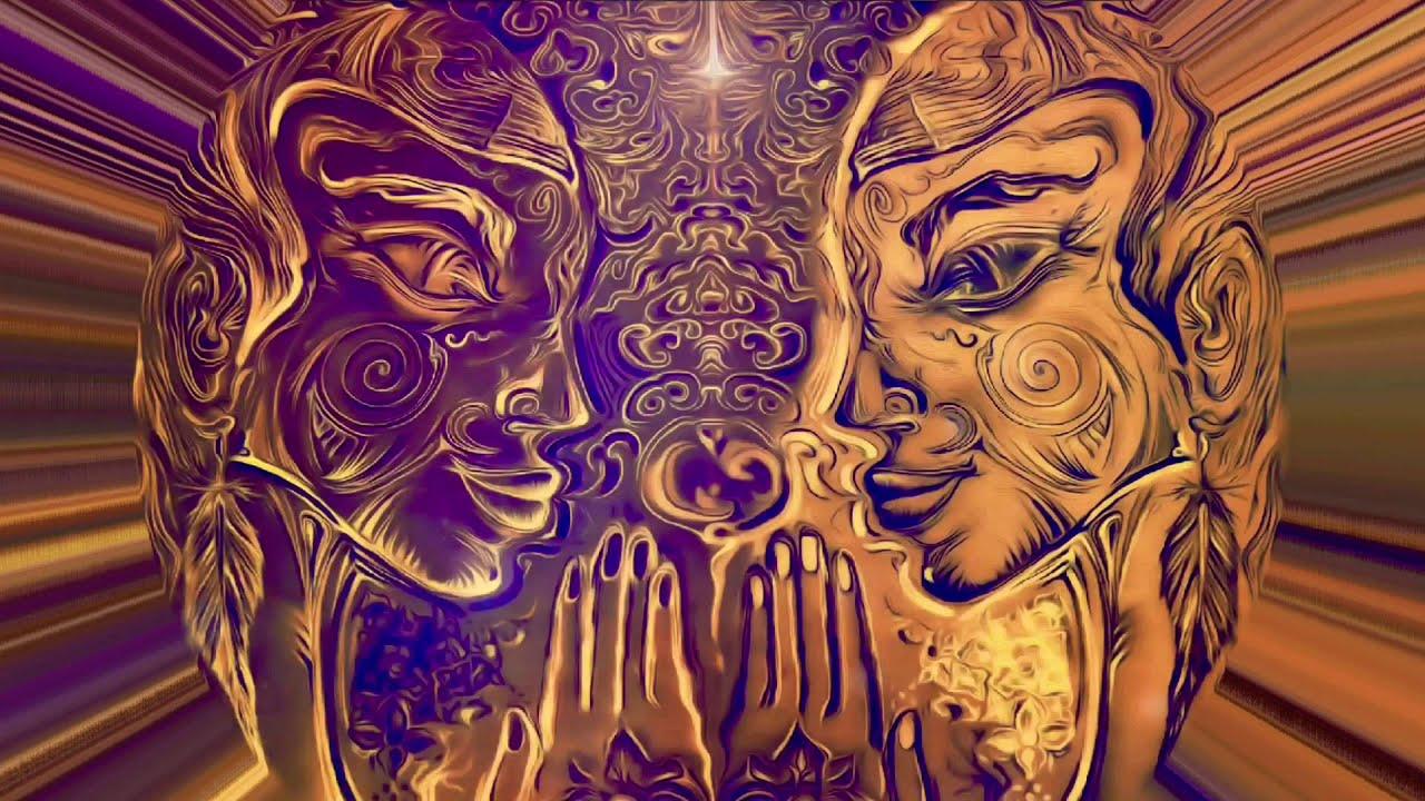 Namaste/Pranam - Visual Alchemy  - Illustrated ChiTreeKai Art - 1.11 Motion Sketch