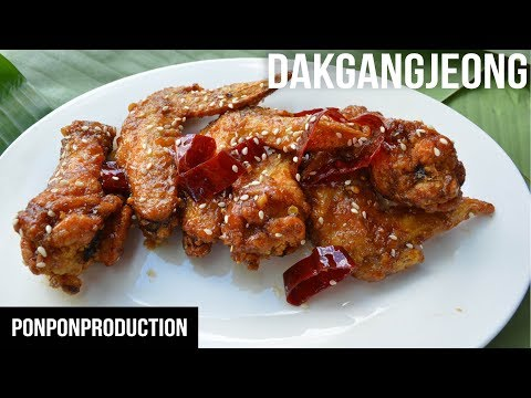 How to make CRISPY FRIED CHICKEN IN SOY SAUCE – DAKGANGJEONG easy recipe | EASY MEALS