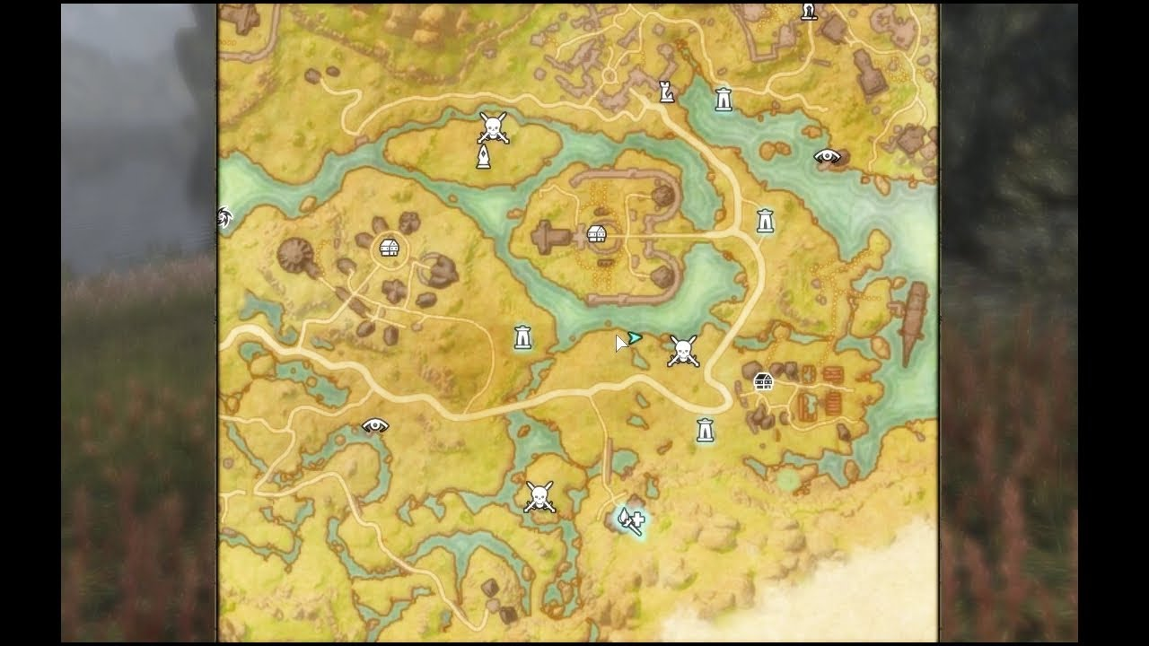 Elder Scrolls Online - Treasure Map VI Deshaan on the rift ce treasure map, khenarthi's roost treasure map, stormhaven ce treasure map, bleakrock treasure map, auridon treasure map,