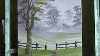Misty Park Walk - Painting Lesson