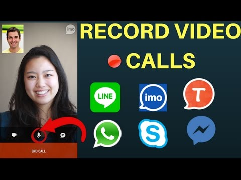 How To Record Any Video Calls (No Root) -Imo,Skype,Messenger,Viber