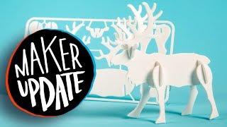 Maker Update: Cardboard Plywood