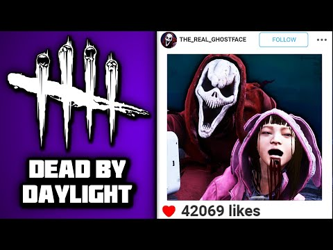 GHOSTFACE JOINS INSTAGRAM!!! | Dead by Daylight |