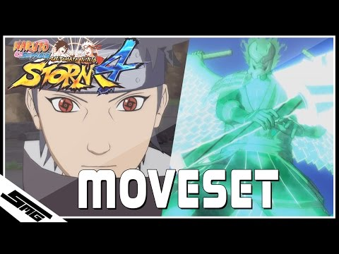 Naruto Ultimate Ninja Storm 4 - Shisui COMPLETE Moveset thumbnail