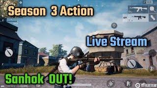 PUBG Mobile Live Stream | Season 3 Action