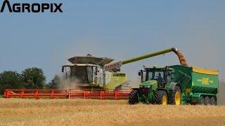 [Harvest 2015] Part 3 - Claas Lexion 770TT + Vario 1200 / John Deere 7290r + Hawe - Leledy Farming