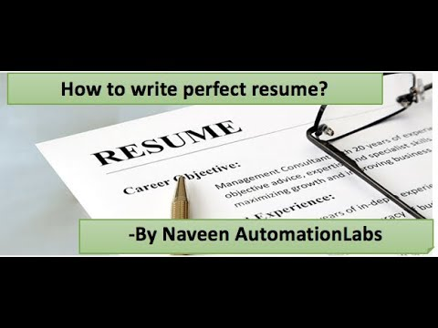 How To Prepare Good Resume For (Freshers & Experienced Candidates)