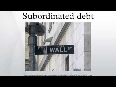 Subordinated debt