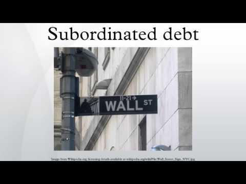 Subordinated debt