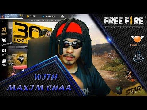 FREE FIRE Play With New Hero Maxim 🔘 LIVE | Malaysia