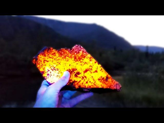 A Rock That Glows