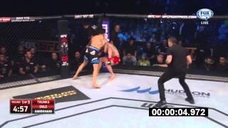 Makwan Amirkhani knocks out Andy Ogle at UFC on FOX 14