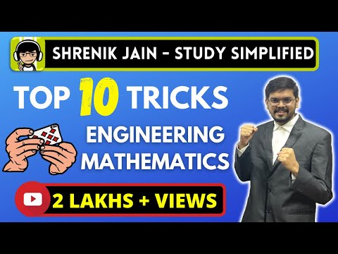 Top 10 TRICKS of Engineering Mathematics for GATE Exam