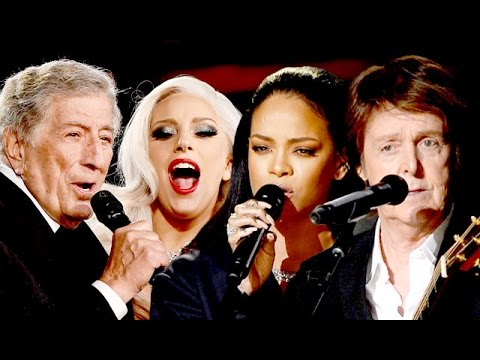 Rihanna & Paul McCartney: Grammys 2015 Best Collaborations
