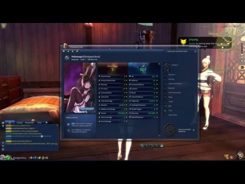 Blade And Soul Tutorial: How To Make Your Profile Portrait A GIF