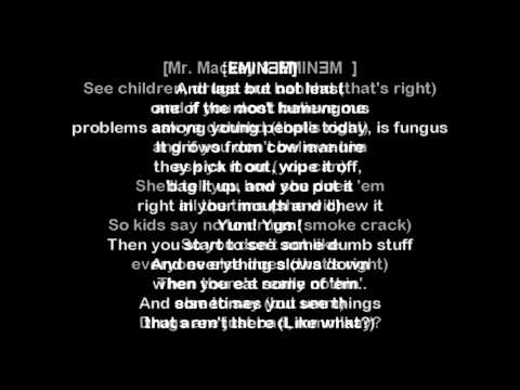 Eminem - The Kids Lyrics [HD 2013]