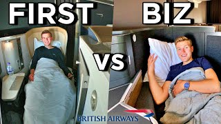 British Airways FIRST CLASS vs NEW BUSINESS CLASS   Are Club Suites Better?!