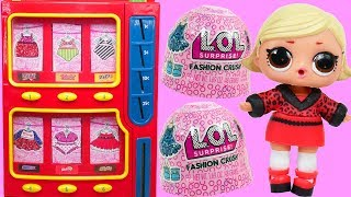 LOL Surprise Vending Machine House With Fashion Crush Bedroom