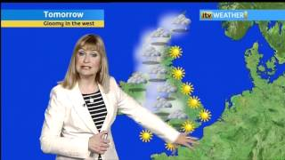 Sian Lloyd - 29-3-12 - Nightime - Weather.divx
