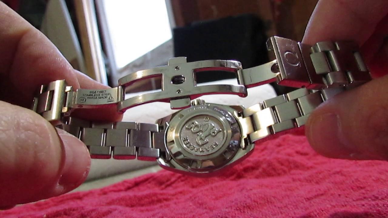 1e818b37096e Omega Seamaster Aqua Terra Ladies Wristwatch~Rising Phoenix Antiques ...