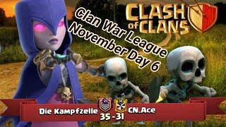 Die Kampfzelle vs CN.Ace   War League November Recaps   champions League 3   COC clash of clans 2018