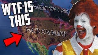 What If McDonalds Ruled Everything?! HOI4