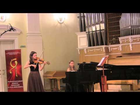 Rubtsov, Introduction&Scherzo. Maryana Osipova (violin), Varvara Tarasova (piano)