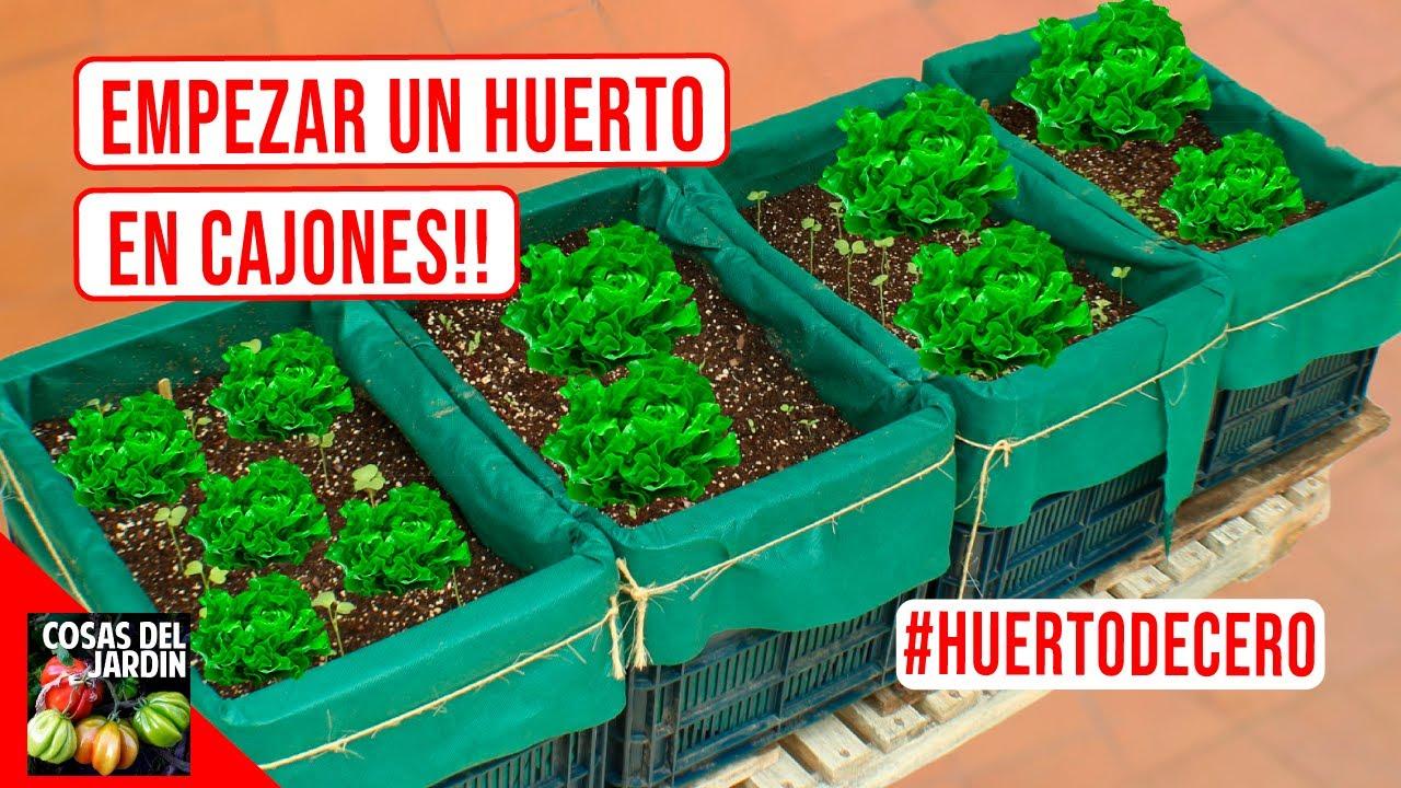 COMO HACER UN HUERTO URBANO | COMENCEMOS EN MARZO: INVIERNO O VERANO! -  #HUERTODECERO EP. 1