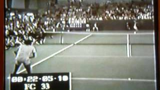 Rod Laver vs. Jimmy Connors