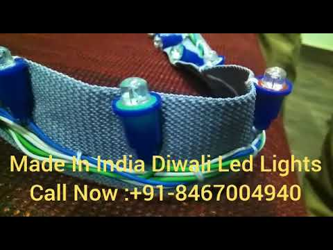 Made in India LED Decorative Light for Diwali.