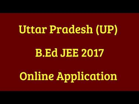 B Ed Application Form In Up on
