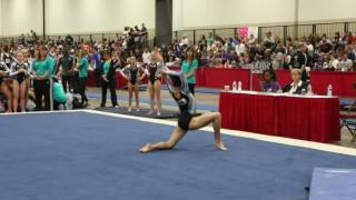 Emily Lee - Floor Exercise - 2016 Women's Junior Olympic Championships